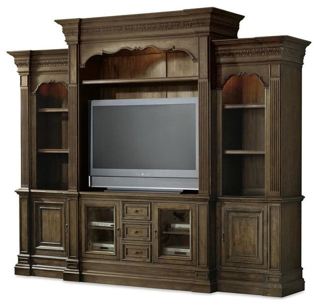 Hooker Furniture Rhapsody Entertainment Console Hutch - Traditional - Entertainment Centers And ...