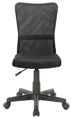 Comfort Task Chair In Black Modern Office Chairs By