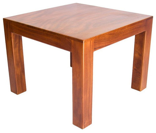 Square Honey Brown Solid Wood Arkansas Dining Table