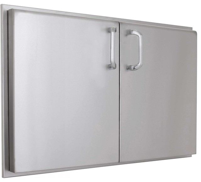 Kingston Raised Series 36 Inch Double Access Door Modern Interior Doors