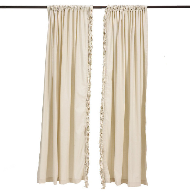 bullion fringe panel traditional curtains by ballard blessed beyond measure knock off ballard designs burlap