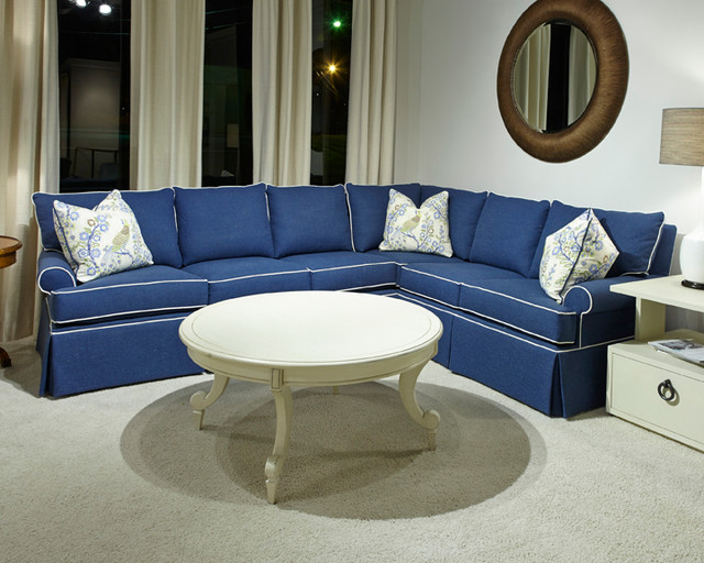 Huntington House Products Beach Style Sectional Sofas