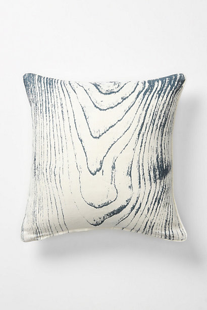 Faux Bois Pillow, Birch - Contemporary - Decorative Pillows - by Anthropologie