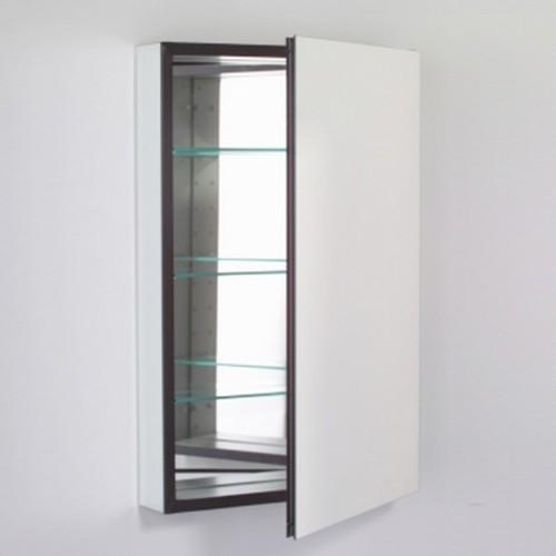 Robern   M Series Flat Plain Mirror Cabinet - Modern - Medicine Cabinets - by YBath