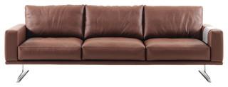 Carlton Sofa Mocca Estoril Leather