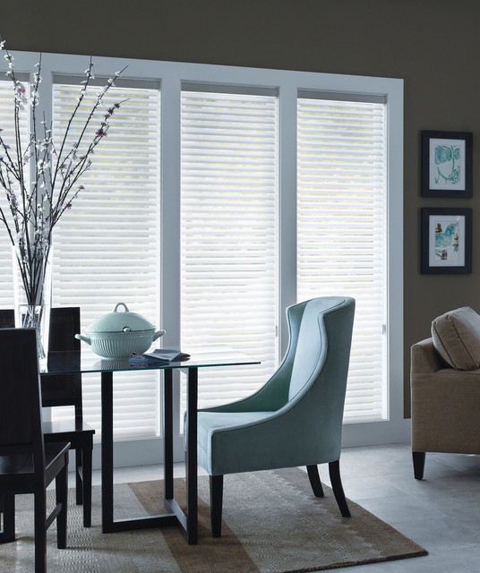 Blinds And Shades Horizontal shades - modern - window treatments ...