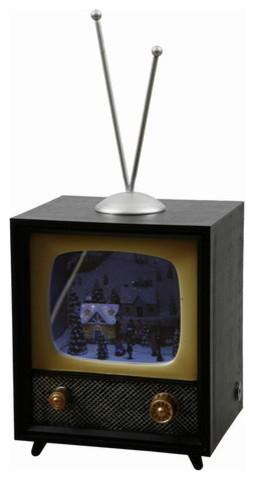Magic Mirror TV Music Box - Transitional - Holiday Accents And Figurines - by Winward Designs