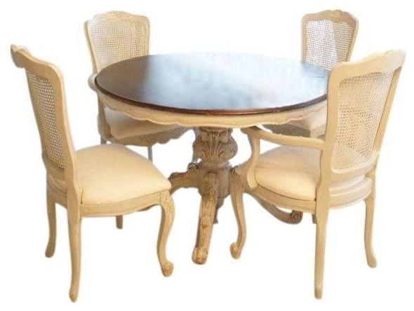 Vintage French Dining Table Set Dining Sets By Chairish