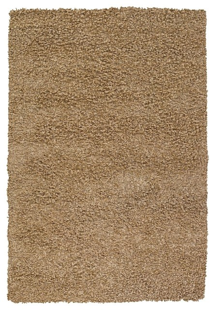 shag riza 7 39 9 x10 39 6 rectangle light brown area rug. Black Bedroom Furniture Sets. Home Design Ideas
