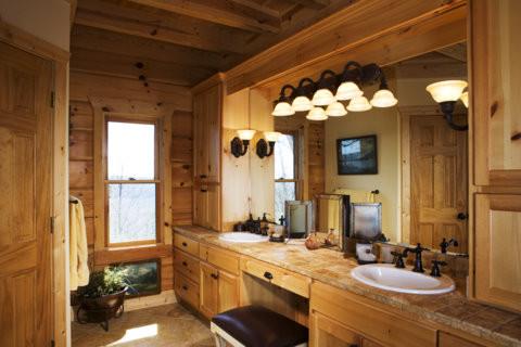 Lake rabun lodge traditional bathroom atlanta by - Lake house bathroom ideas ...