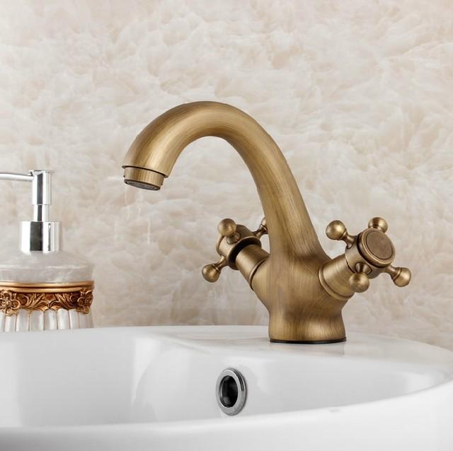 Antique Basin Faucet Bathroom Sink Faucets Mbsk003 Traditional Bathroom Sink Faucets Other