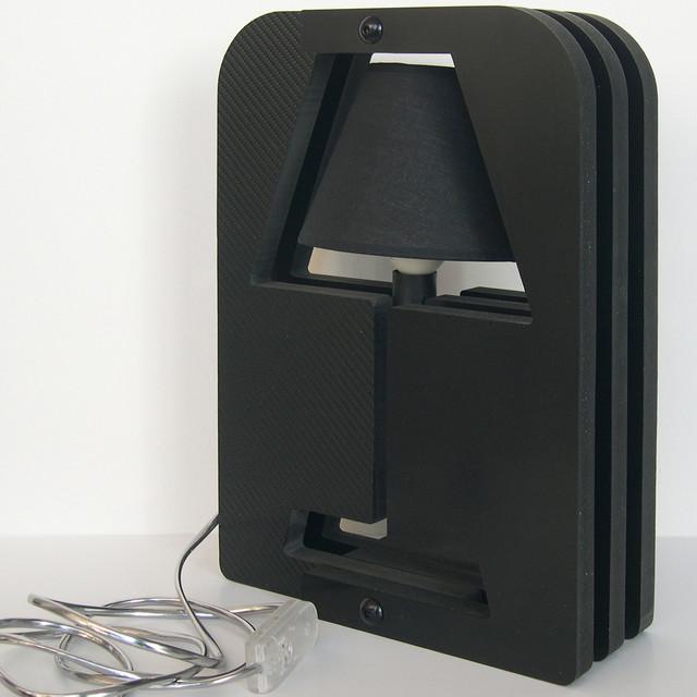 lampe modul 39 o 5 carbone contemporain lampe poser other metro par zygot 39 o design. Black Bedroom Furniture Sets. Home Design Ideas