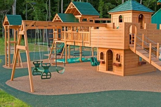No fault safety surface for residential and commercial - Playground surfaces for home ...