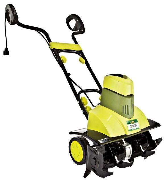Sun Joe 9-Amp Electric Garden Tiller/Cultivator contemporary-outdoor ...