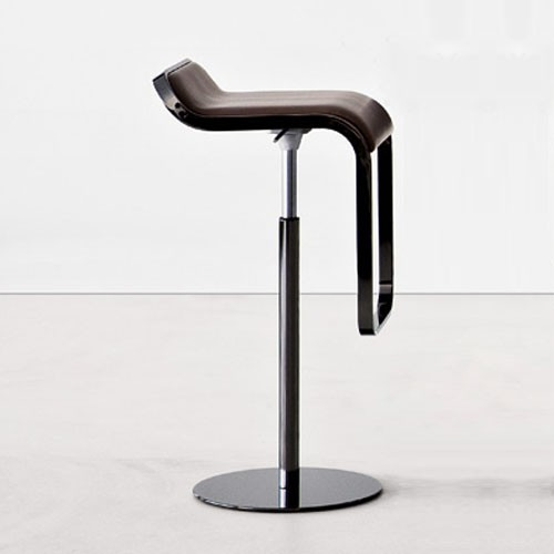 Lem Height Adjustable Bar Stool Modern Bar Stools And