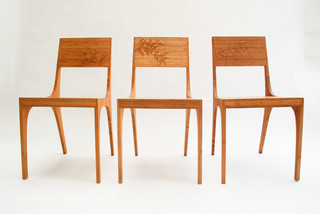 Isometric chair contemporary dining chairs vancouver for Modern dining chairs vancouver