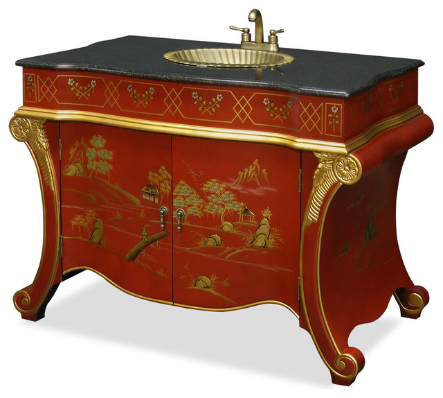French Style Vanity Cabinet - Asian - Bathroom Vanities And Sink Consoles - by China Furniture ...