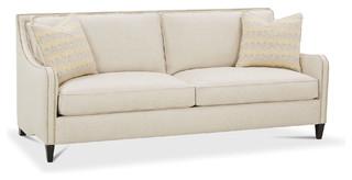 berlin 84 nailhead sofa beige transitional sofas by one kings lane. Black Bedroom Furniture Sets. Home Design Ideas
