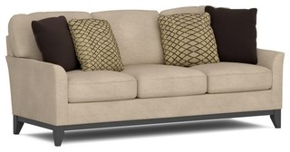 PERSPECTIVES TAN SOFA Contemporary Sofas Houston By GALLERY FURNITURE