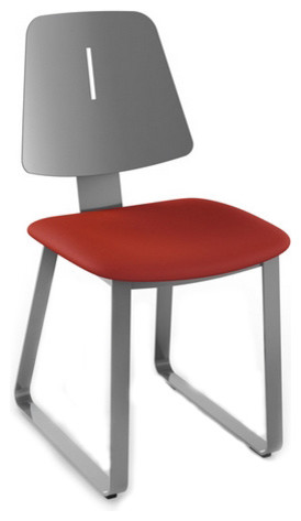 Modern Metal Back Dining Chair Contemporary Dining Chairs By ARTeFAC