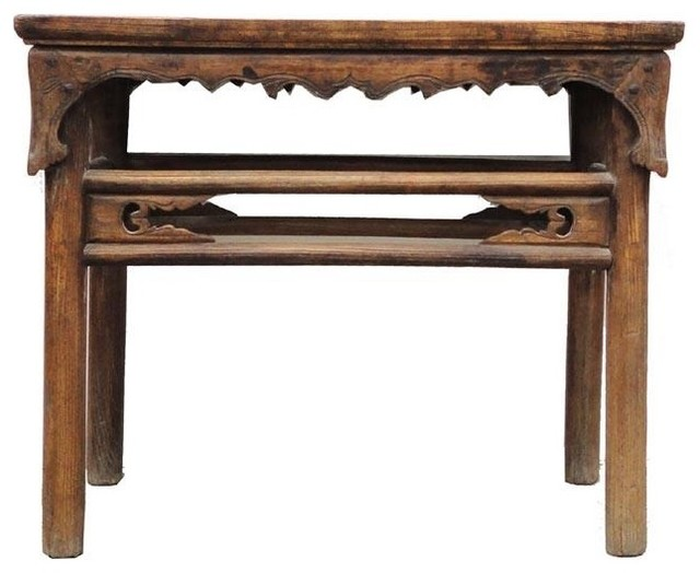 Chinese Carved Side Altar Console Table - Asian - Console Tables - by ...