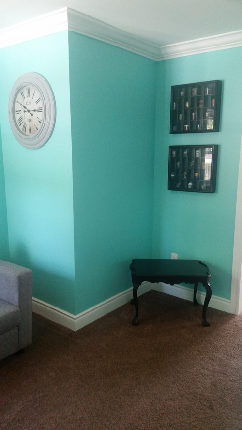 Help Decorating Tiffany Blue Wall Color