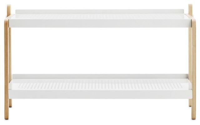 Sko Skoställ, Vit Skandinavisk Skoförvaring av RoyalDesign se