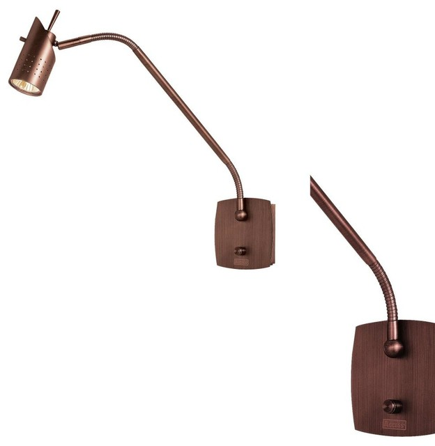Access Lighting-62088-Odyssey Wall Mounted Task Lamp with on/off switch - Wall Lighting - by ...