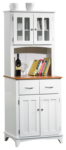 Microwave Pantry Cabinet With Brooke Tall Cart Contemporary Ovens By How To Organize