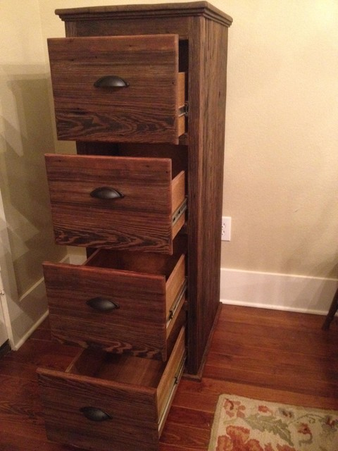 ... Cabinet - Traditional - Filing Cabinets - dallas - by Restoring Texas