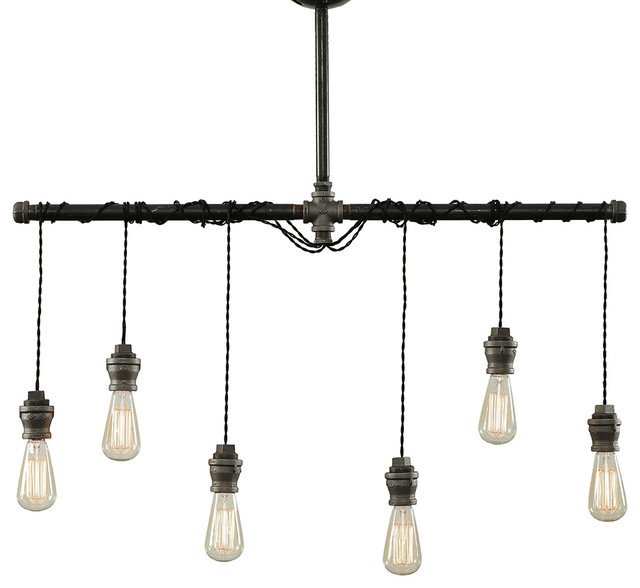 Tiny house nation features west ninth vintage lighting for Houzz rustic lighting