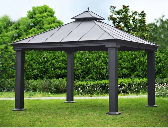 Royal Hardtop Gazebo Contemporary Gazebos By Sam S Club