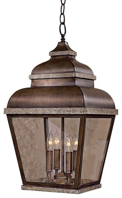 "Mossoro 22"" High Outdoor Indoor Hanging Light Farmhouse"