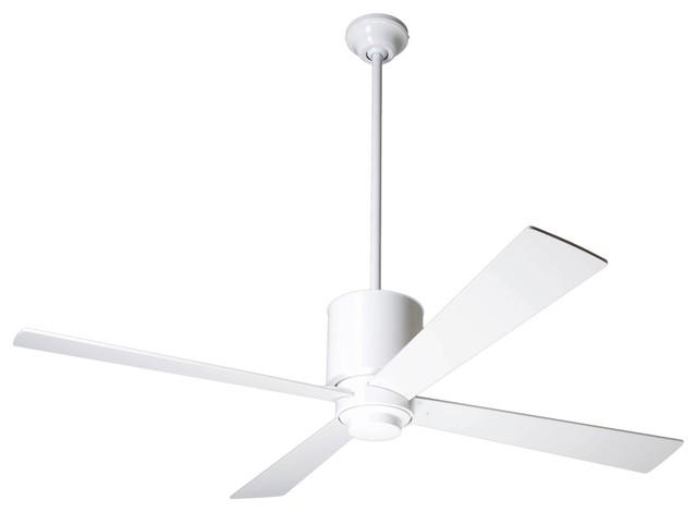 "52"" Lapa Gloss White Ceiling Fan"