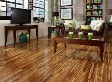 Morning Star Tiger Strand Bamboo - Hardwood Flooring - by Lumber Liquidators