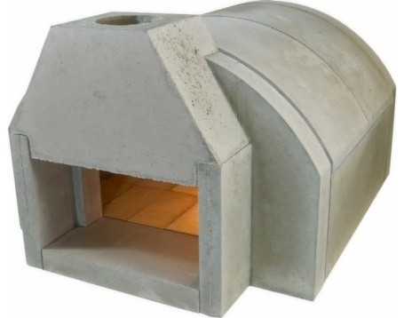 Fogazzo Model 655 Wood Fired Oven Kit - Traditional - Outdoor Pizza ...