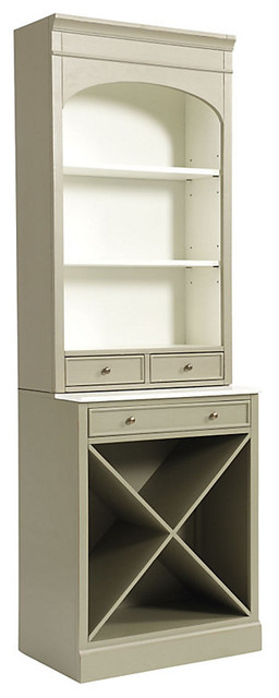 Paulette Server with Wine Rack - Traditional - China Cabinets And Hutches - by Ballard Designs