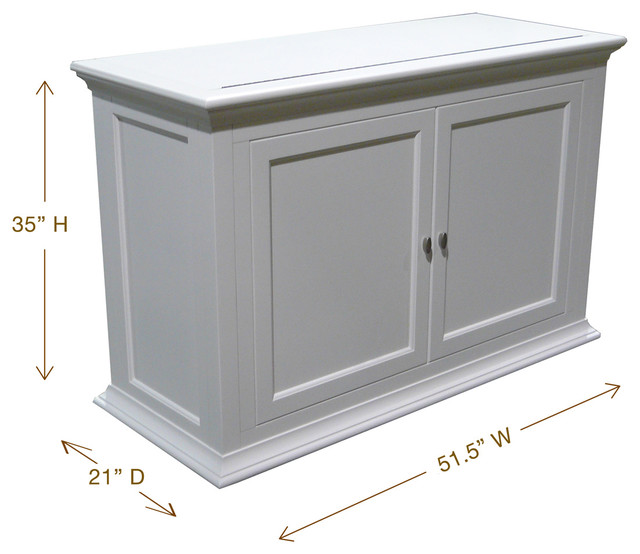 """Seaford TV Lift Cabinet For Flat Screen TV's Up To 46"""" - Contemporary - Entertainment Centers ..."""