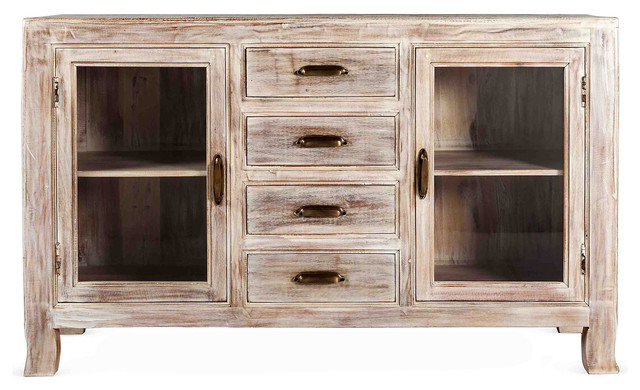 "Cora 60"" Sideboard - Contemporary - Buffets And Sideboards"