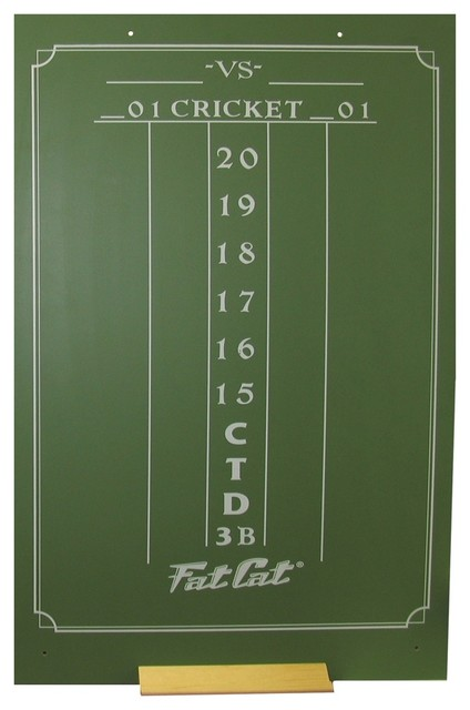 Large Cricket Chalk Scoreboard - Contemporary - Wall Clocks - by ShopLadder