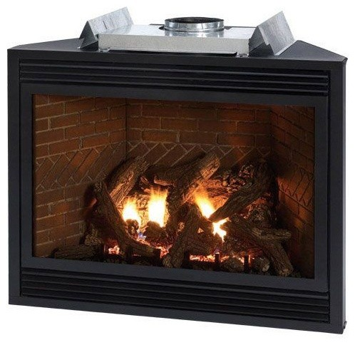 Tahoe Luxury Multi Functional 36 Direct Vent Fireplace Liquid Propane Contemporary Indoor