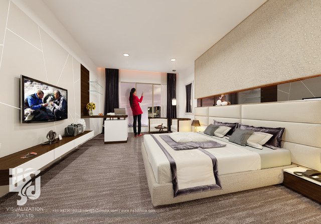 3d interior bedroom design chic bedroom posh bedroom for Posh bedroom designs