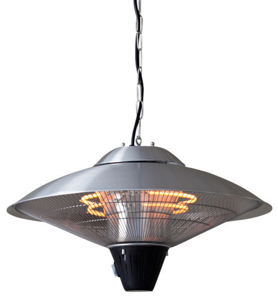 Hanging Stainless Steel Halogen Patio Heater - Traditional - Patio Heaters - by Outdoor ...