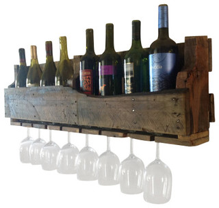 Isabella Wood Wine Rack