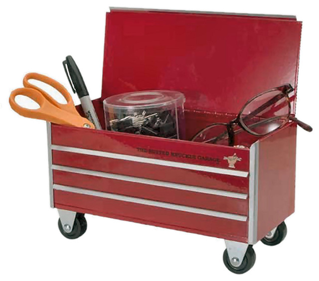 Busted Knuckle Garage Tool Box Organizer - Industrial - Desk Accessories - by The Busted Knuckle ...