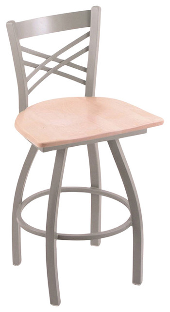 Catalina 25quot Counter Stool With Anodized Nickel Finish  : transitional bar stools and counter stools from www.houzz.com size 350 x 640 jpeg 32kB
