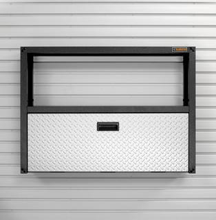 Gladiator GarageWorks Fold-Away Workstation (GAFS42KDSG) - Modern ...