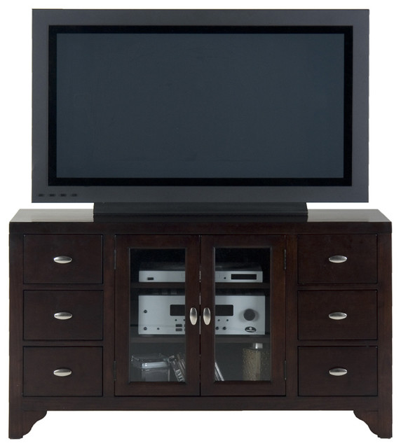 Jofran 044-9 Sonoma Merlot TV Cabinet - Traditional - Entertainment Centers And Tv Stands - by ...