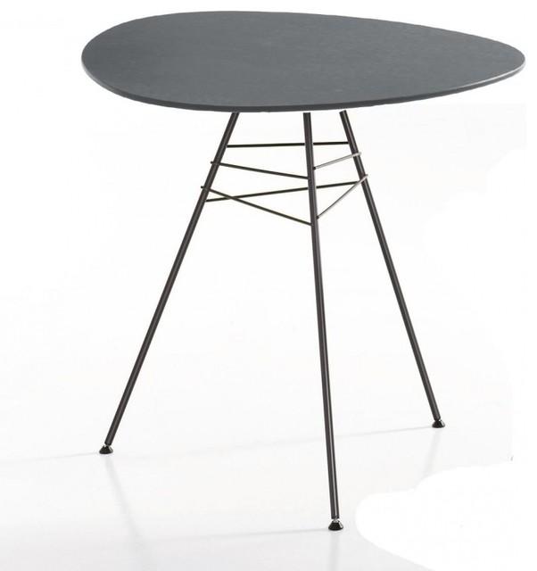 Gartenmobel Lounge Poco : Leaf Gartentisch dreieckig H74 bauhauslookoutdoorundgartenmoebel