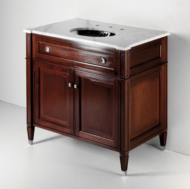 Original Bathroom Vanities  Taurus  Solid Timber Vanity Traditionalbathroom